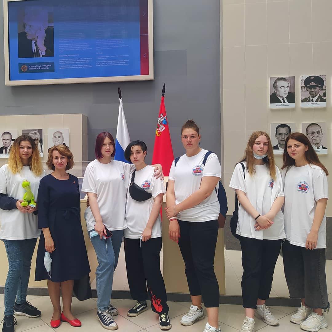 Команда Раменского колледжа посетила Форум общественных инициатив «ЭкоЛогичное Подмосковье»